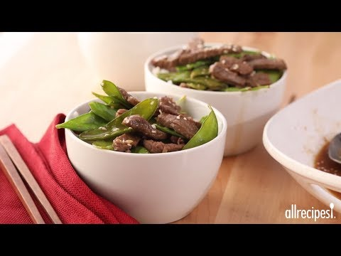 Stir Fry Recipes – How to Make Asian Beef and Snow Peas