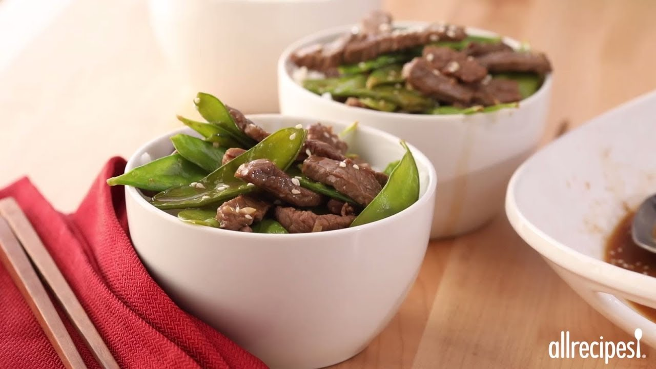How to make asian beef and snow peas stir fry recipes allrecipes how to make asian beef and snow peas stir fry recipes allrecipes forumfinder Images