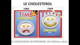 CHOLESTEROL, le mensonge nutritionnel du XXeme siècle
