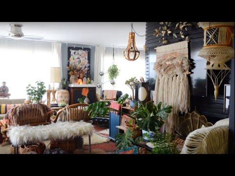 A Maximalistic Boho Home In Oakland Youtube