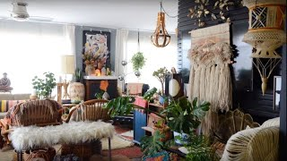 A Maximalistic, Boho Home In Oakland 🍍