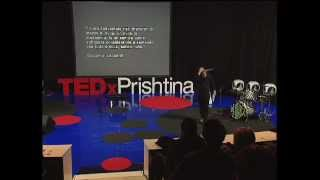 Shine and elegance of clandestine strength: Sislej Xhafa at TEDxPrishtina