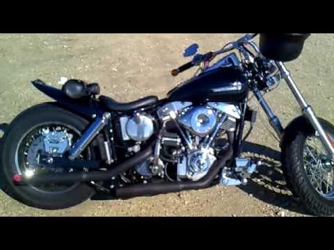 Sound Harley Shovelhead Superglide 1974