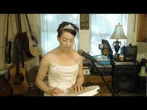 Amanda Palmer with Neil Gaiman -