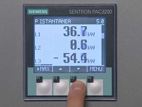 SIEMENS POWER MANAGEMENT - SENTRON PAC 3200