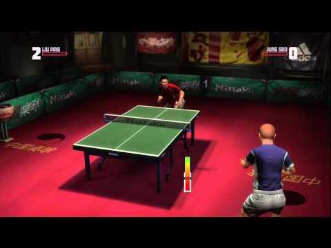 Rockstar Table Tennis - Serving Aces Liu Ping vs Jung Soo (Expert)