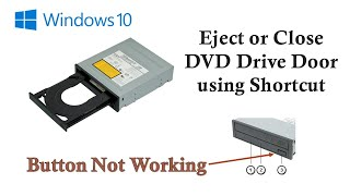 Video How to Eject or Close DVD Drive Tray Using Shortcut | Microsoft Windows 10 Tutorial download MP3, 3GP, MP4, WEBM, AVI, FLV Juli 2018
