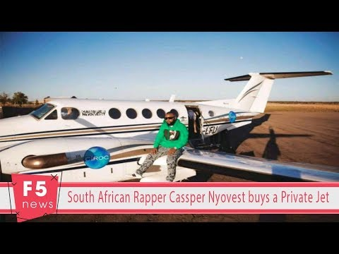 South African Rapper Cassper Nyovest buys a Private Jet