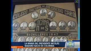 La Madre de Nicolas Maduro,  Presidente (e) de Venezuela
