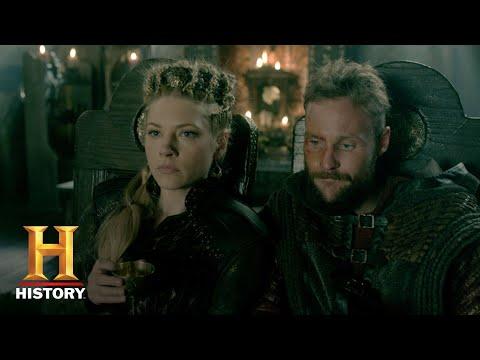 Vikings: Season 5 Character Catch-Up - Lagertha (Katheryn Winnick) | History