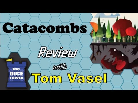 Catacombs Review - with Tom Vasel