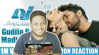 Gudilo Badilo Madilo Vodilo 1Min Video Song I NorthIndian Reaction Review I DJ I Allu Arjun,Pooja