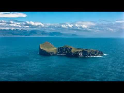 The lonely house on the island of Elliðaey