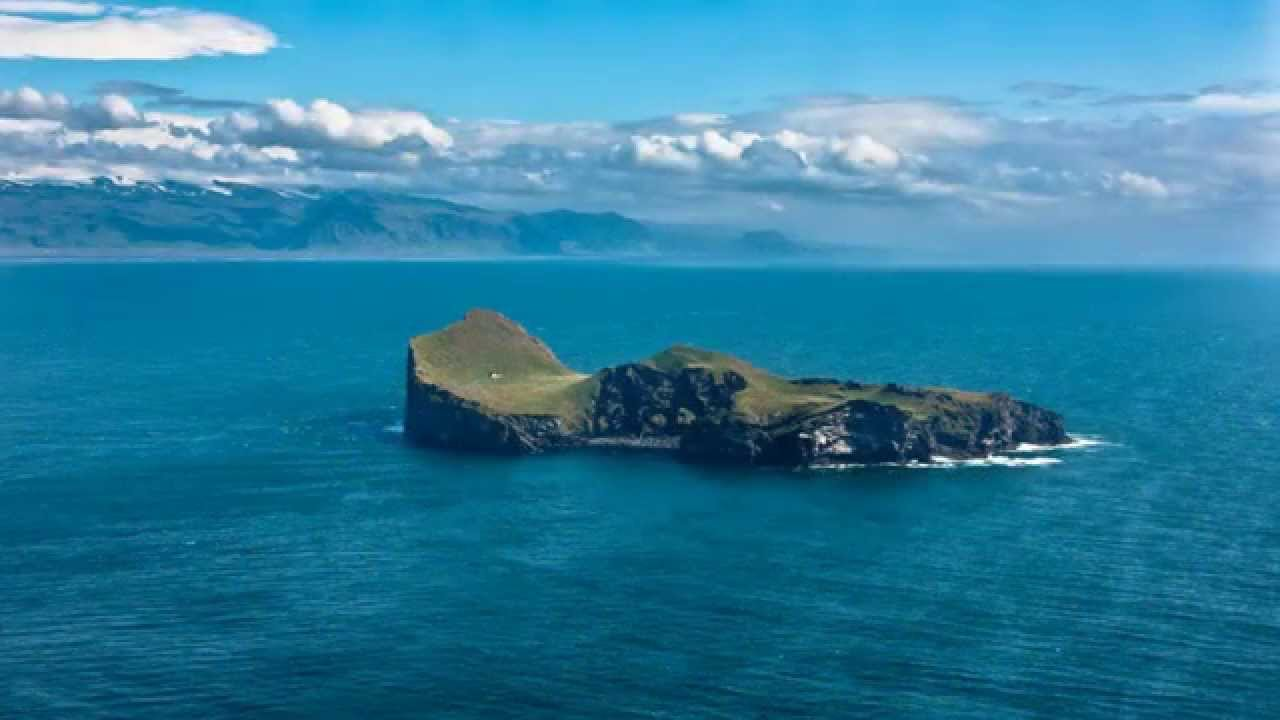 The lonely house on the island of Elliaey  YouTube