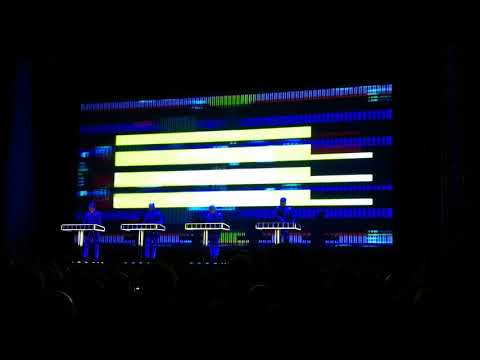 "Kraftwerk - ""It's More Fun To Compute"" Live, Dresden Albertinum 03.02.2018"