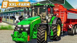 LS19 XXL Farm 112: Einzug in den neuen KUHSTALL | LANDWIRTSCHAFTS SIMULATOR