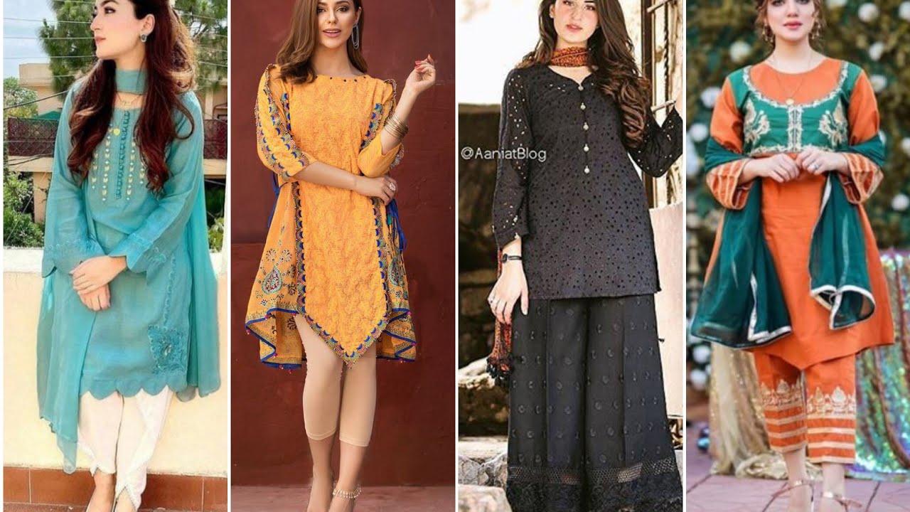 Download Summer casual dress designing ideas.summer dress design for eid 2020