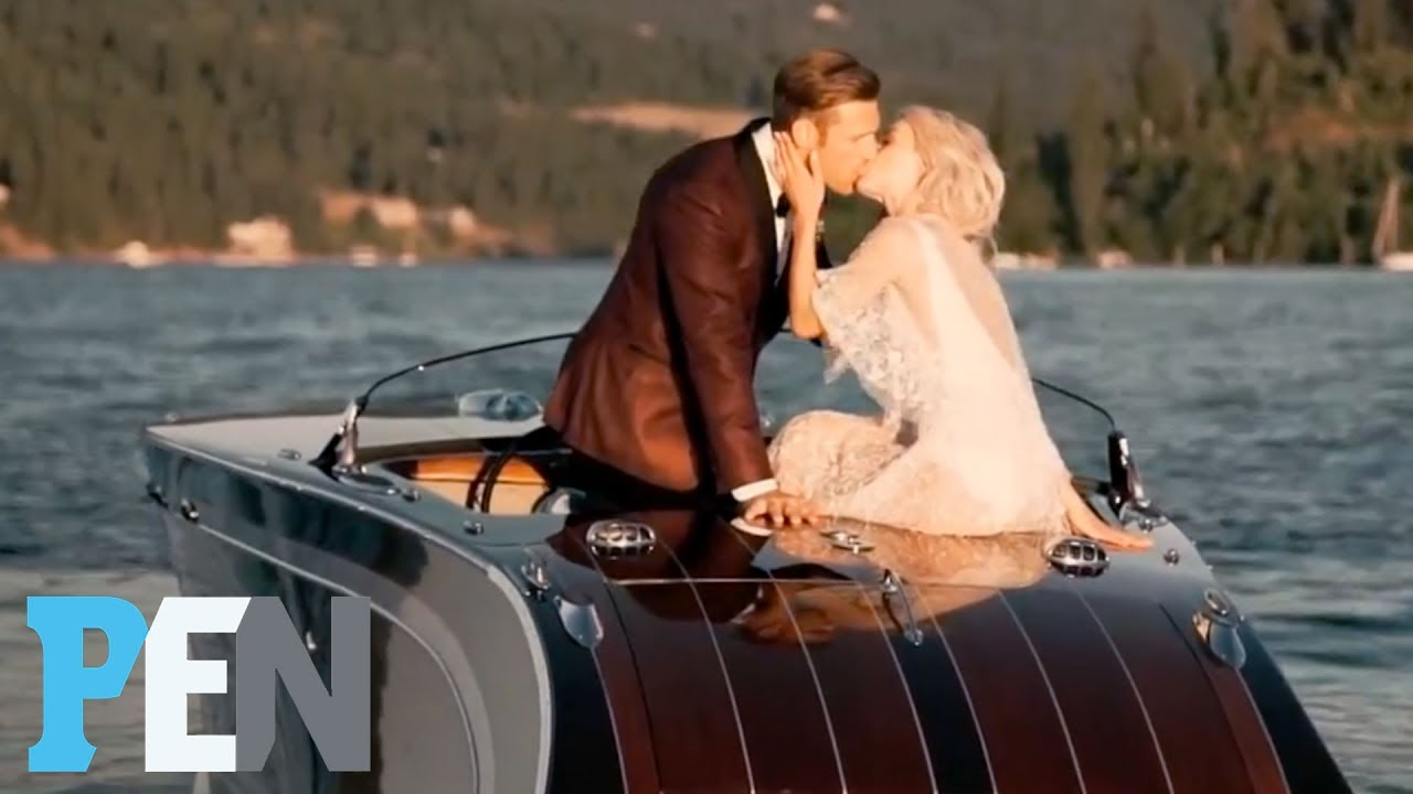 Watch Julianne Hough S Perfect Wedding To Brooks Laich On The Lake Pen People