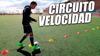 Como Aumentar Tu Velocidad En Fútbol Circuito Básico Velocidad Y Agilidad Entrenamientos Fútbol Youtube