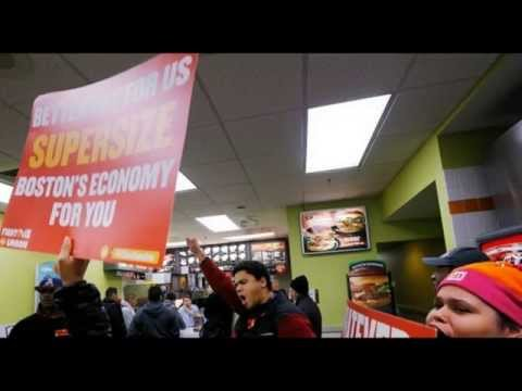 New Wave of Protests: All Major US Cities Hit with Minimum Wage Rallies!