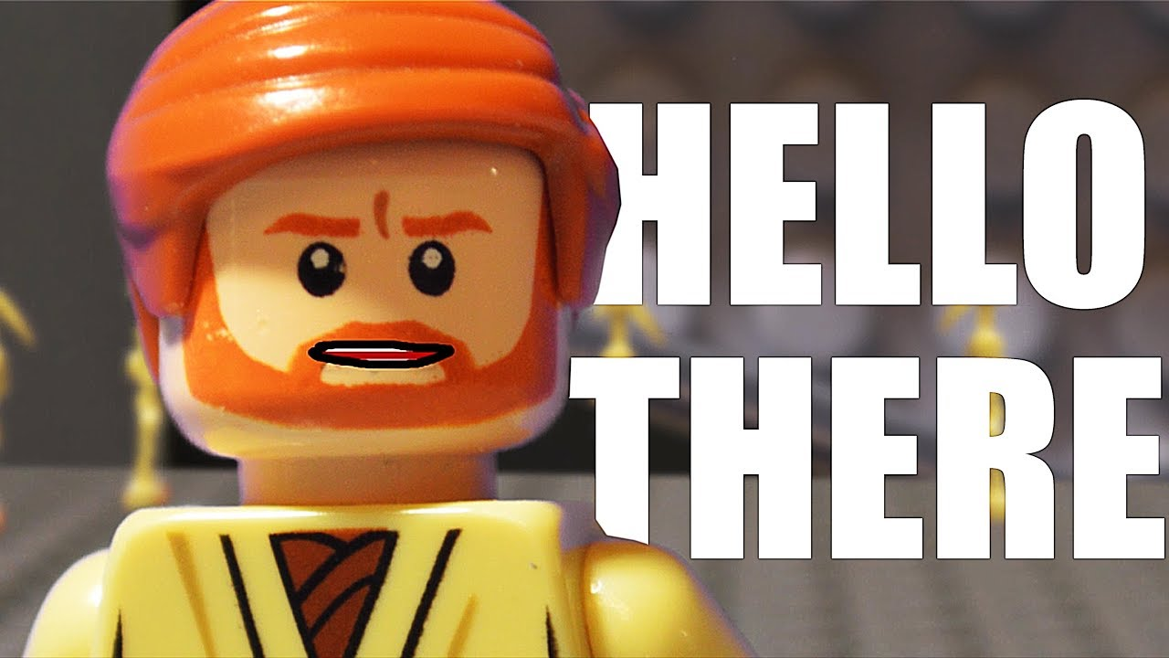 Hello There In Lego Revenge Of The Sith Scene Recreation Youtube