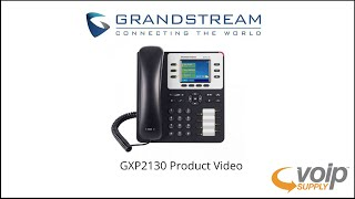 GXP2130 Product Video   VoIP Supply