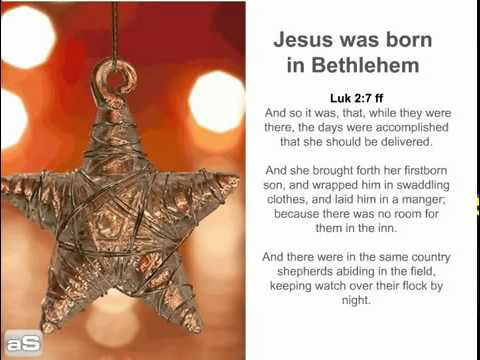 christmas story bible versesflv youtube