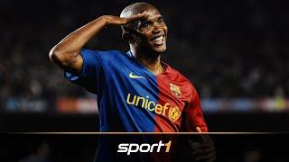 Unterschätzte Weltklasse: Wie gut war eigentlich Samuel Eto'o | SPORT1