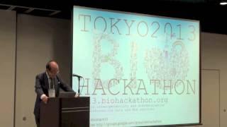Biohackathon 2013 Welcome address