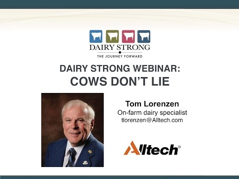 Dairy Strong Webinar: Cows Don't Lie