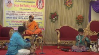 PILLANGOVIYA CHELUVA KRISHNANA ON FLUTE BY PRADYUMNA.