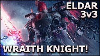 DAWN of WAR III: Puny Space Elves?! - ELDAR 3v3 Gameplay (Beta) ft. Wraithknight