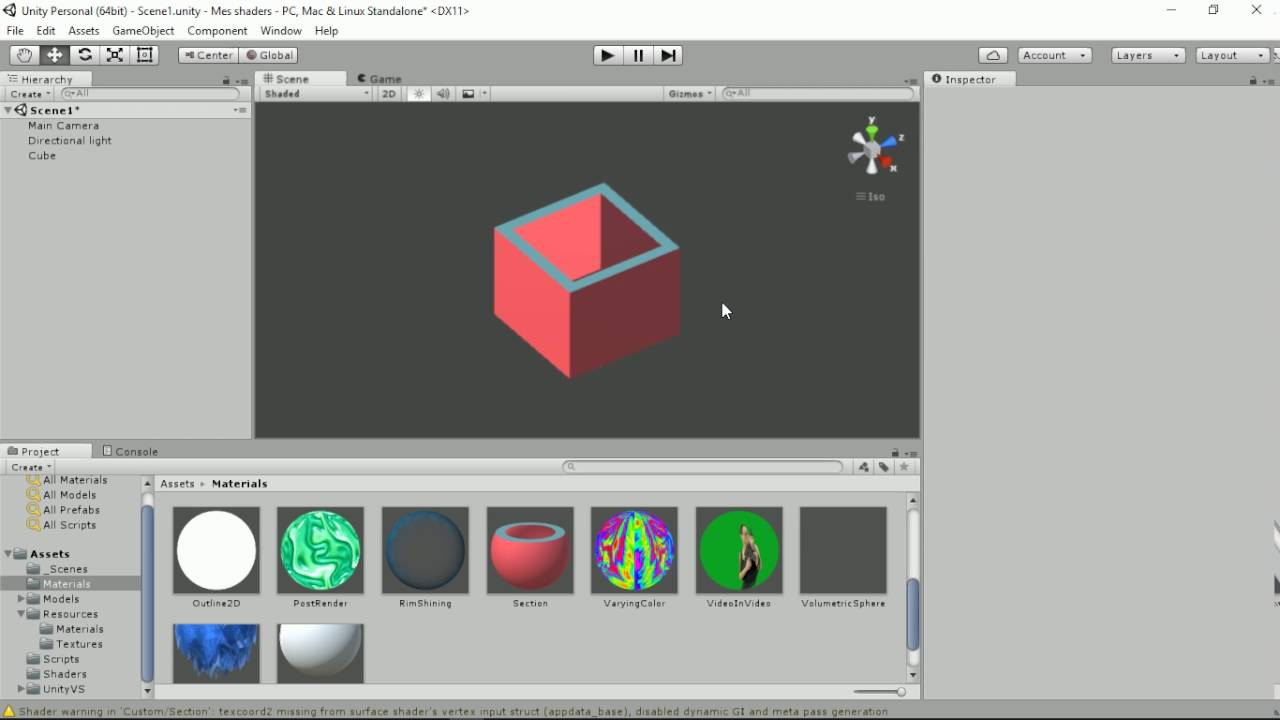 Unity shader : Section by Shaders Laboratory
