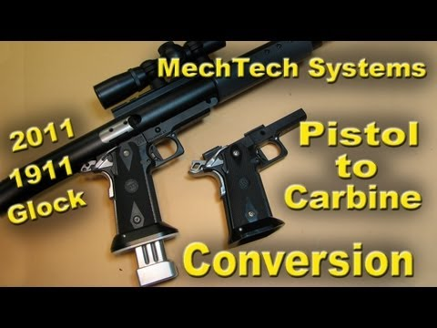 MechTech Pistol To Carbine Conversion Unit (CCU) - REVIEW