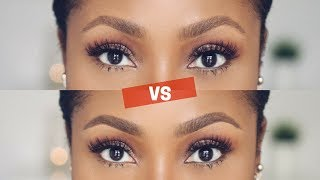 natural soft vs defined brows how to do both dimma umeh