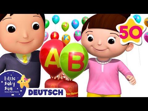 ABC Lied | Und noch viele weitere Kinderlieder | von LittleBabyBum