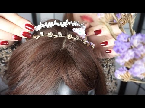 ENG [영화 패러디 ASMR] 아가씨,머리해드릴게요│아가씨 결혼식│ Wedding Hair Salon Role Play