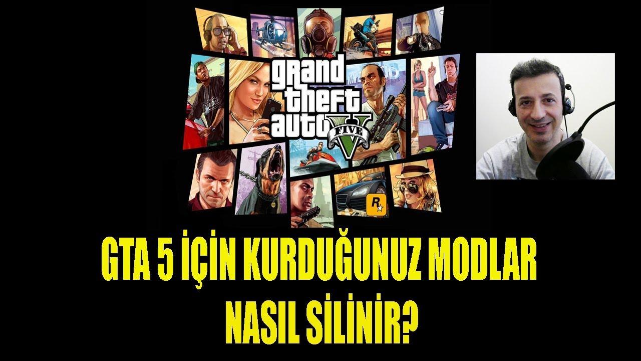 GTA 5 MOD DOSYALARINI SİLME NASIL YAPILIR?