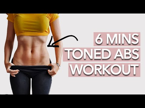Abs Workout for Women at Home Without Equipment