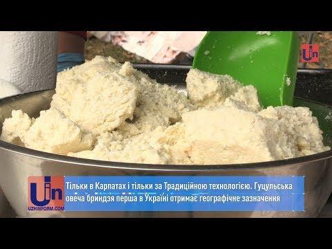 Гуцульська овеча бриндзя перша в Україні отримає географічне зазначення