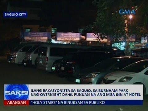 Saksi: Ilang bakasyonista sa Baguio, sa Burnham Park nag-overnight dahil punuan...