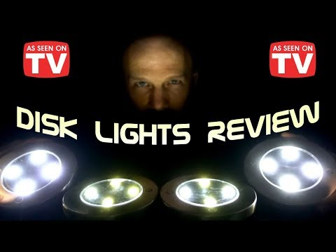 Bell Howell Disk Lights Review: Solar-Powered Lights * As Seen on TV *