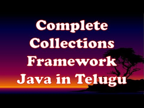 Complete Collections Framework in Java in Telugu by Kotha Abhishek thumbnail