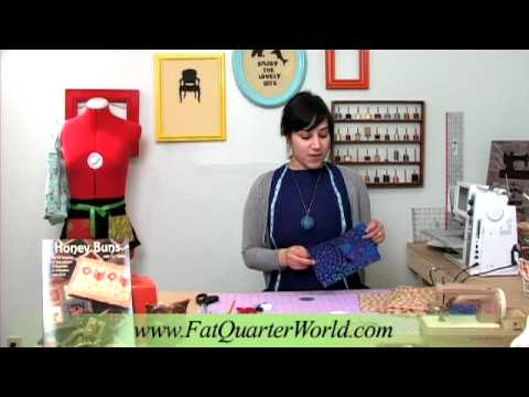 Fat Quarter World - Fabric Buttons