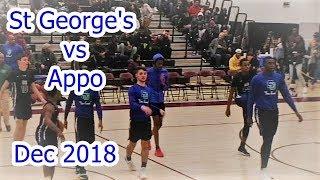 St George's vs Appo Dec 2018
