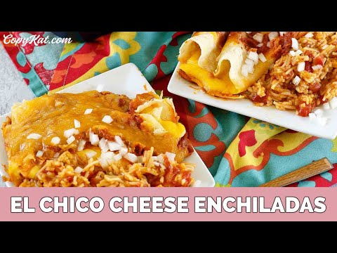 El Chico Cheese Enchiladas Recipe