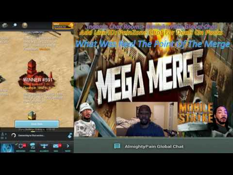 Mobile Strike Ep 449 What Was Real The Point Of The Merge Server Shut Down