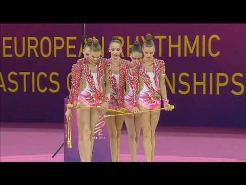 Чемпионат Европы по художественной гимнастике (булава-групповые)