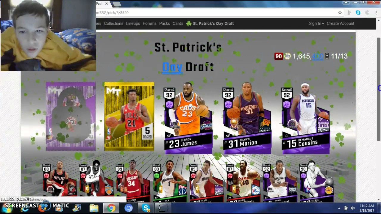 My Best Ever? 2kmtcentral St  Patricks Day Draft Episode 7
