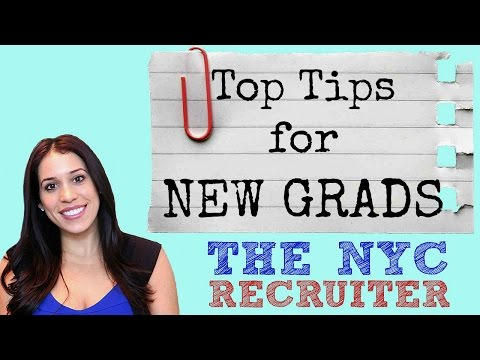 Advice for New Graduates // Interview Tips